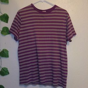 Urban Outfitters BDG Purple Striped Tee